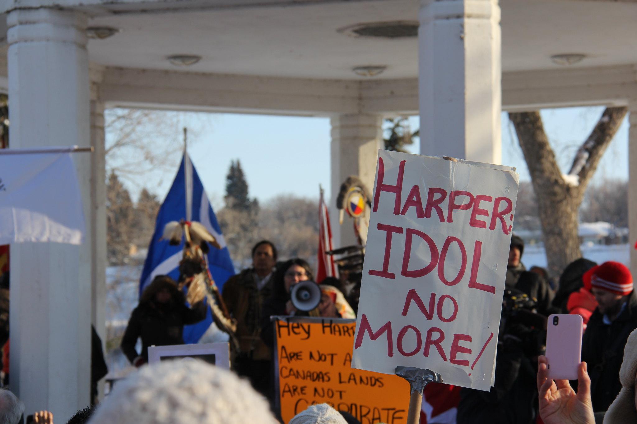 Protest, 2013 (For Metro Saskatoon)