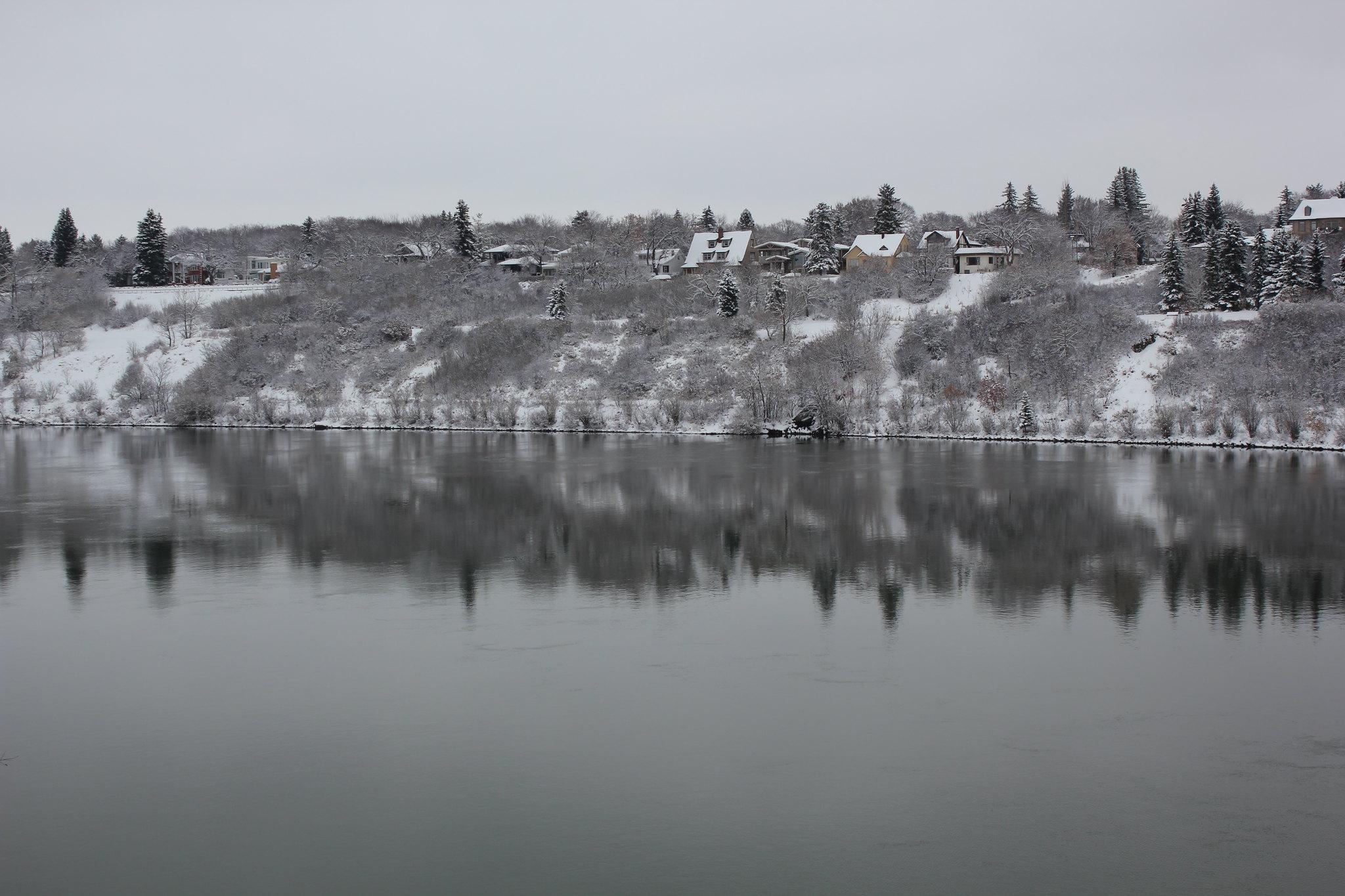 Winter in Saskatoon, 2018