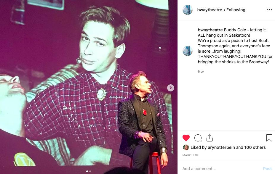Scott Thomspon @ The Broadway Theatre, 2019