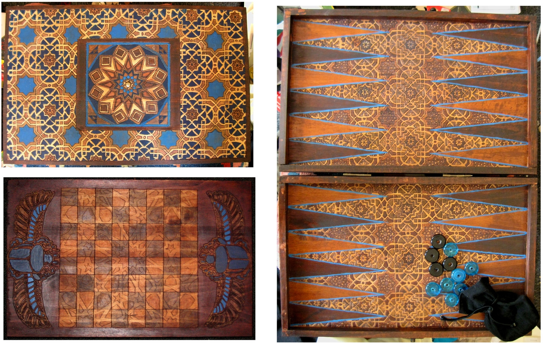 Backgammon/Chessboard