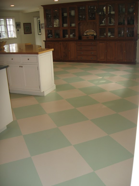 Checkered Floor