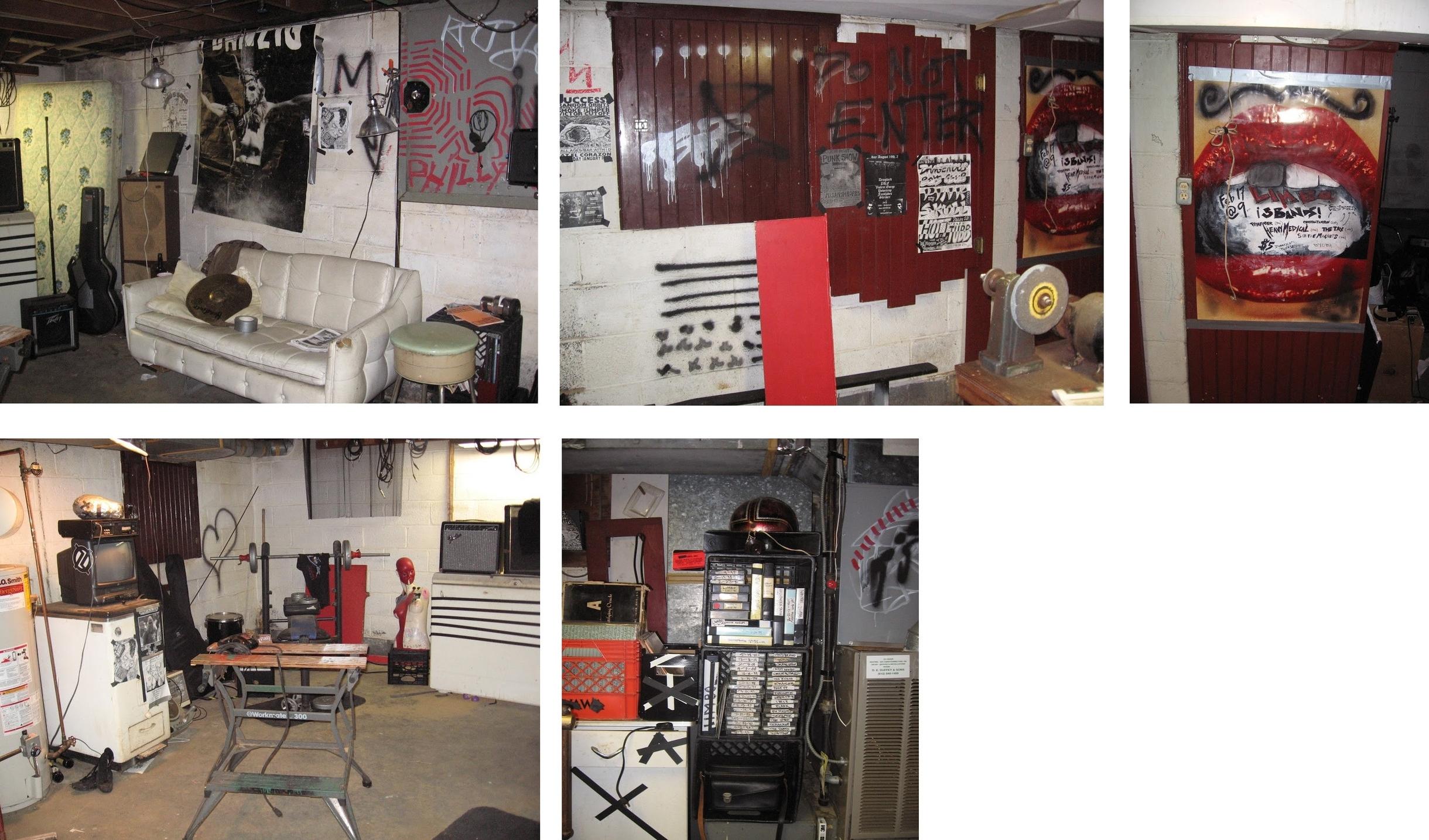 Punk Venue Basement Set