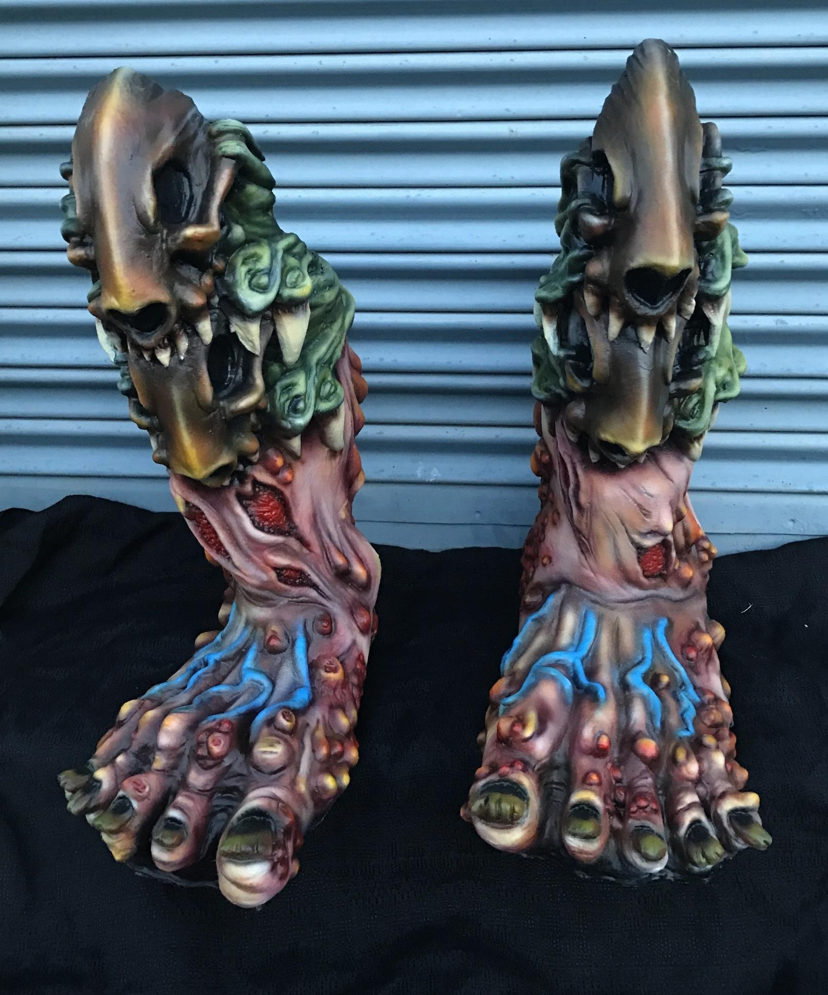 Pustulus's Feet