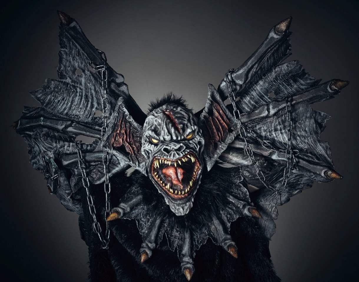 BAT Mask, Collar and Wings