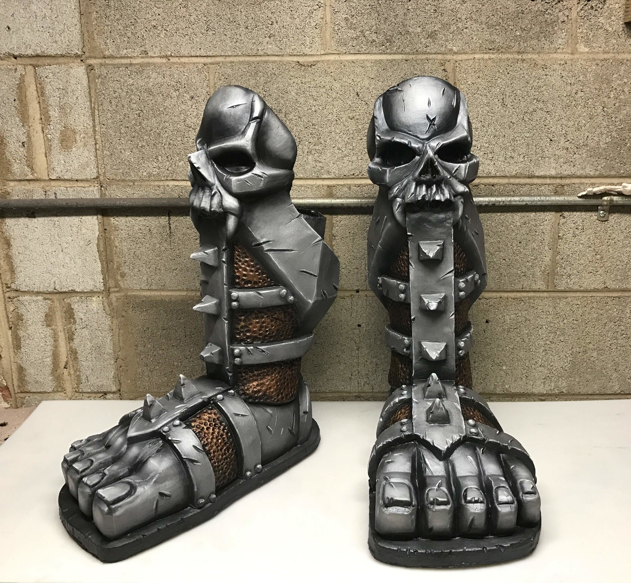 Beefcake Foot Armor