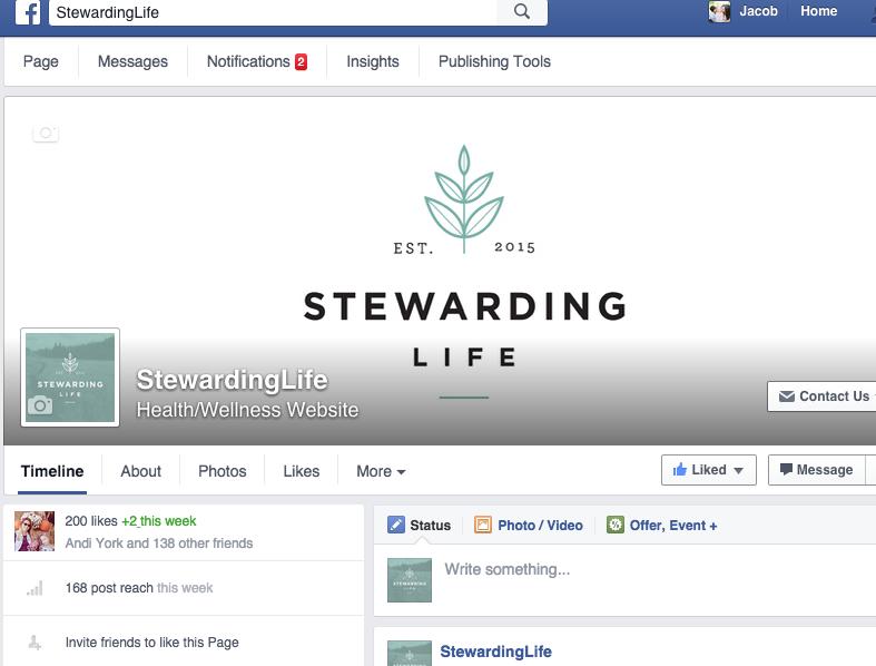 Stewarding Life Facebook Feed
