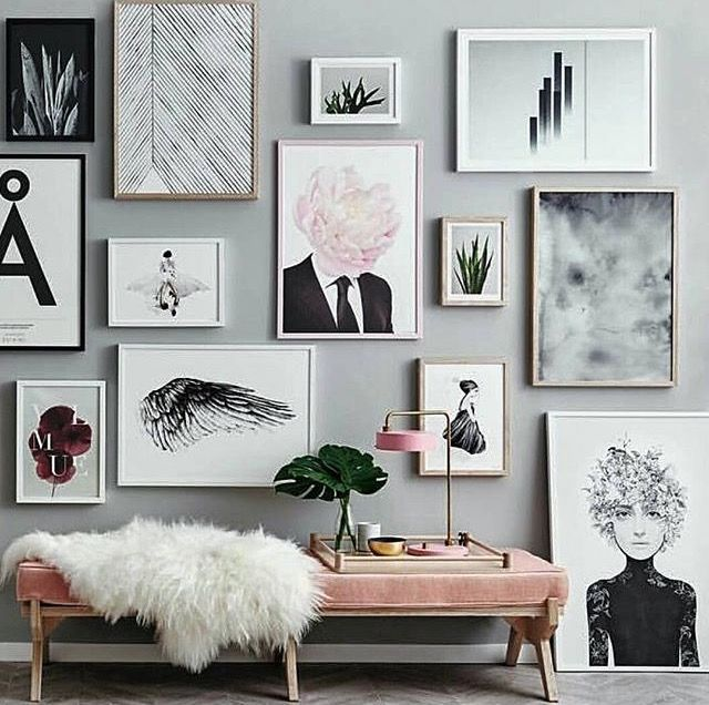 MIX AND MATCH - CREATE GRID STYLE GALLERY WALLS