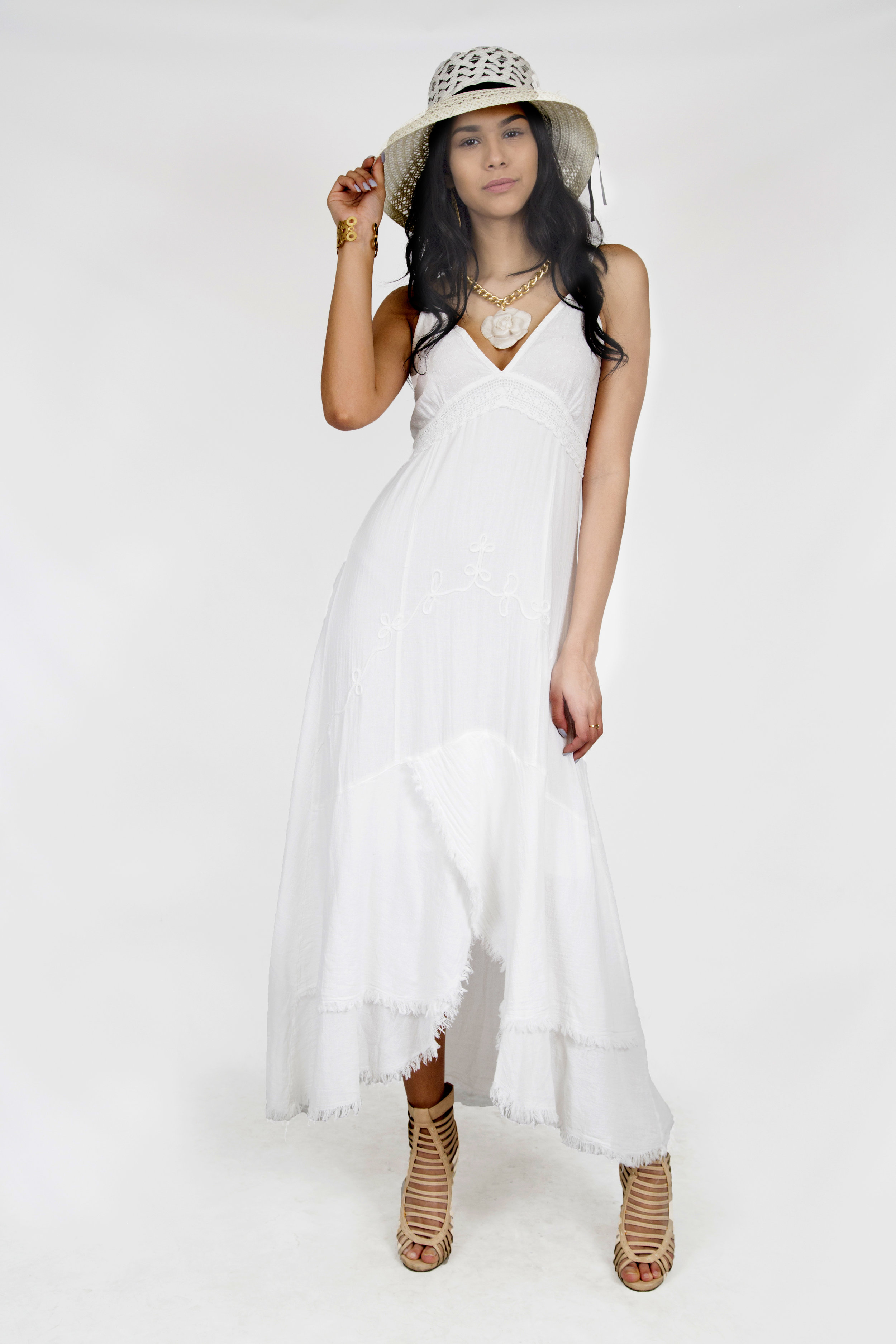 Summer Cotton Dress - https://www.ebay.com/itm/223503299456