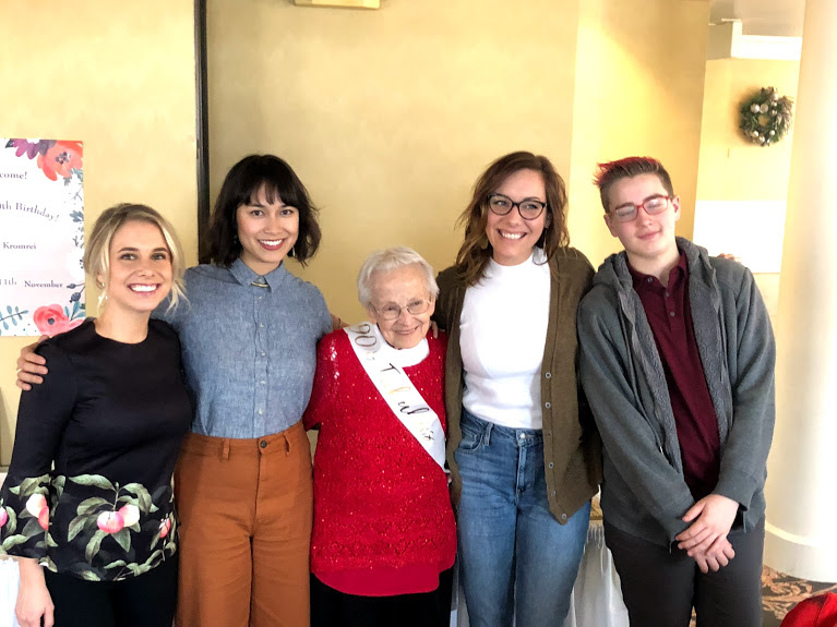 Detroit, MI - We headed back to Michigan once again for grandma Diana's 90th birthday celebration! It was a lovely party with family and friends, and a little Sinatra (sung and played by Sean & Katie, thanks so some serious hinting from grandma).