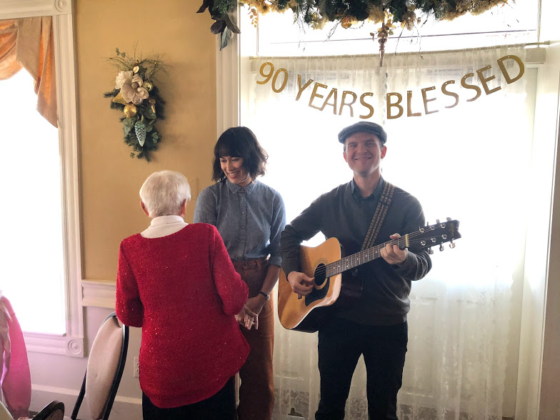 Grandma Di turned 90! - And we threw her a party despite her initial protesting. It was lovely.