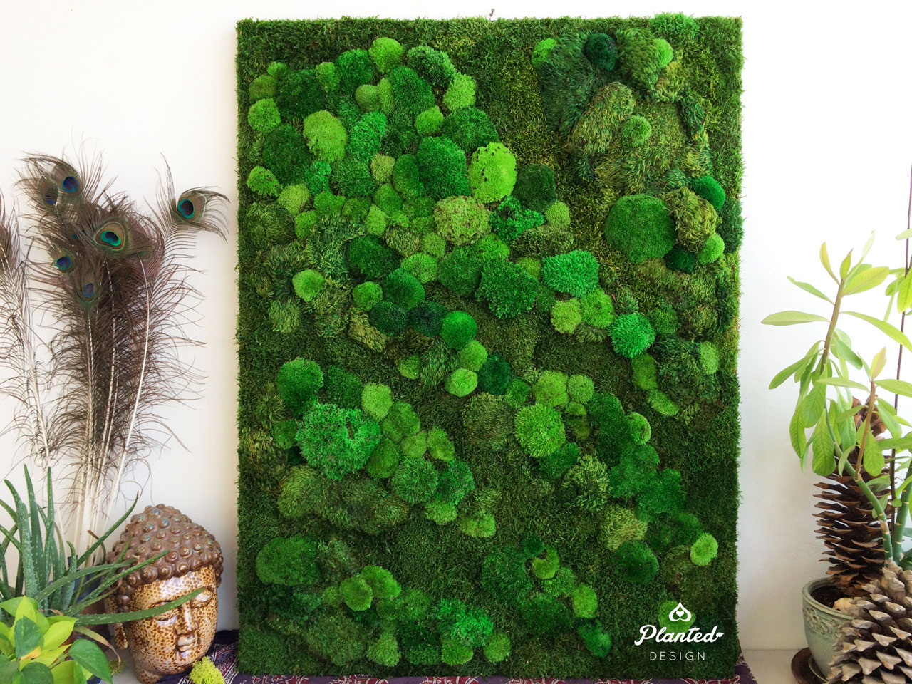 Residential  - Moss Wall