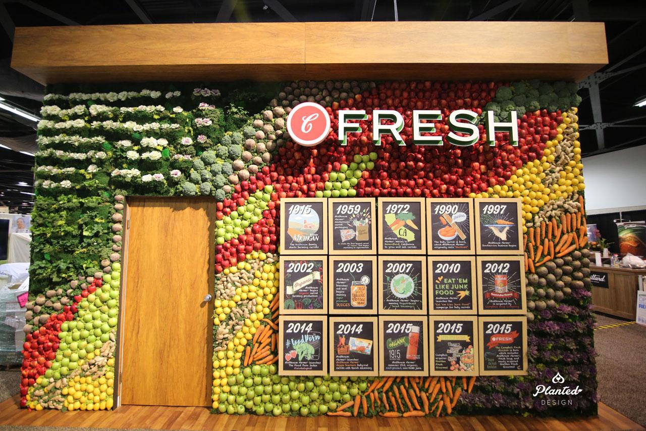 Bolthouse Fruit & Veggie Booth