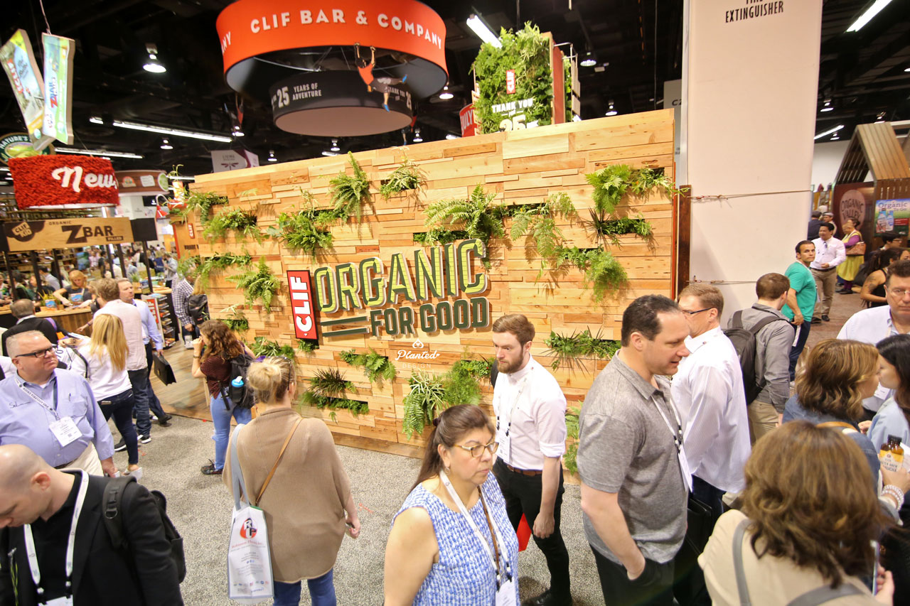 Clif Bar Eco-Friendly Expo Wall