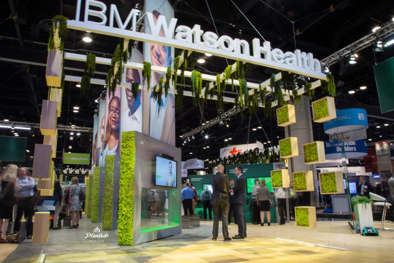 IBM Hanging Moss Display