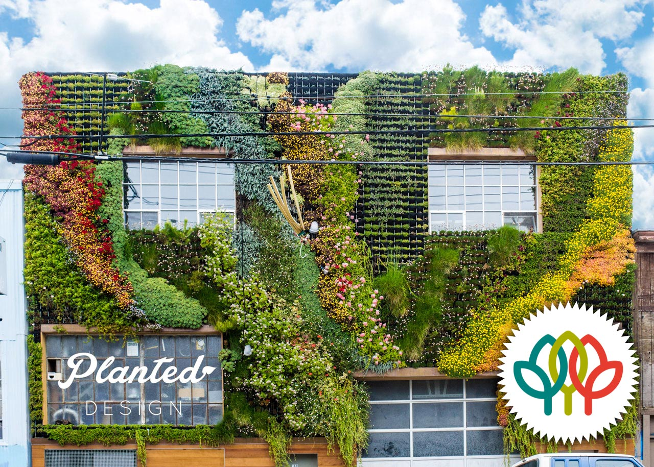 Be Safehouse  - Living Wall, American Hort Award Winner