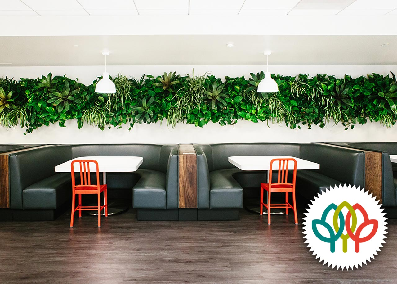 Open Table  - Living Wall American Hort Award Winner