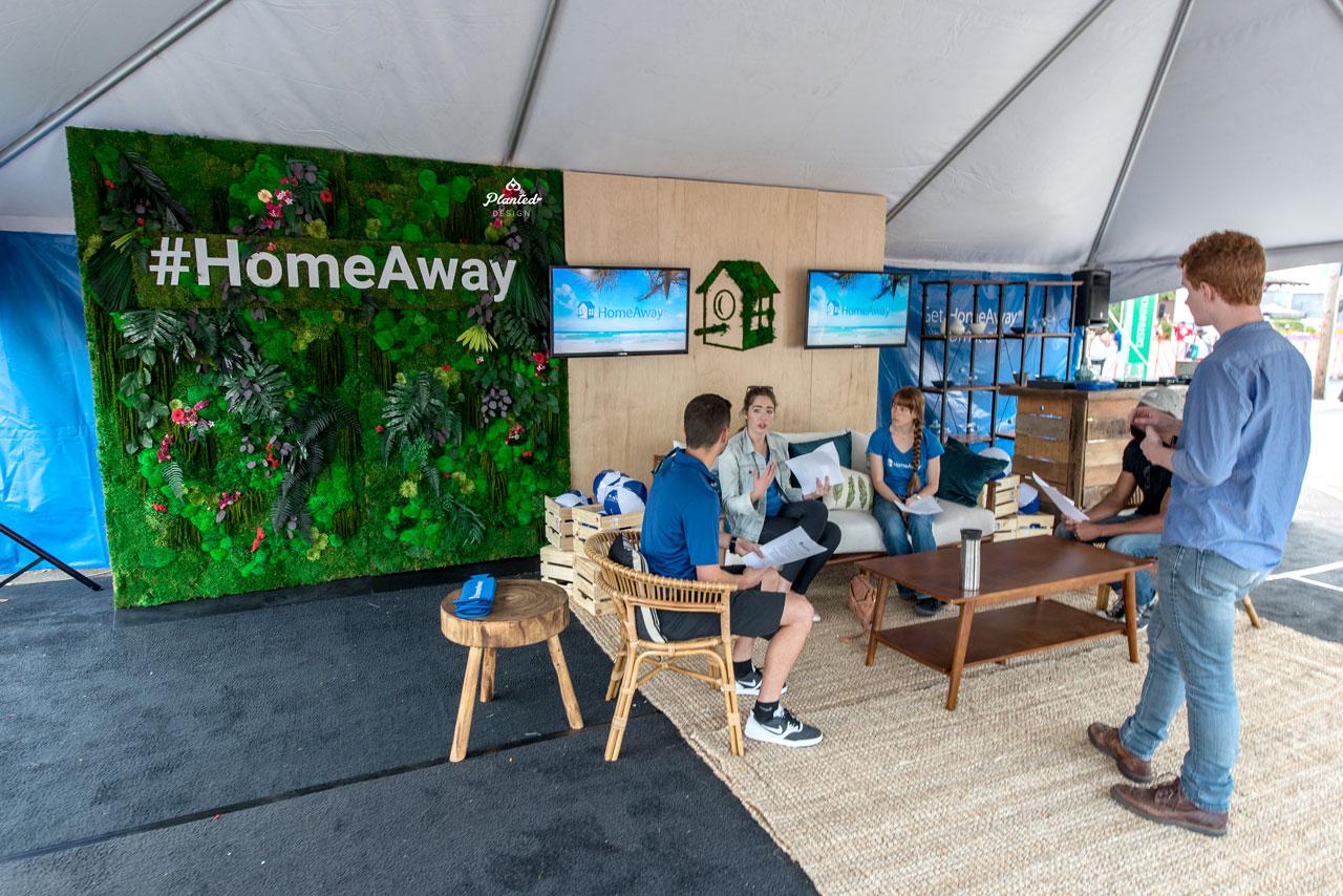 HomeAway  - Moss Wall