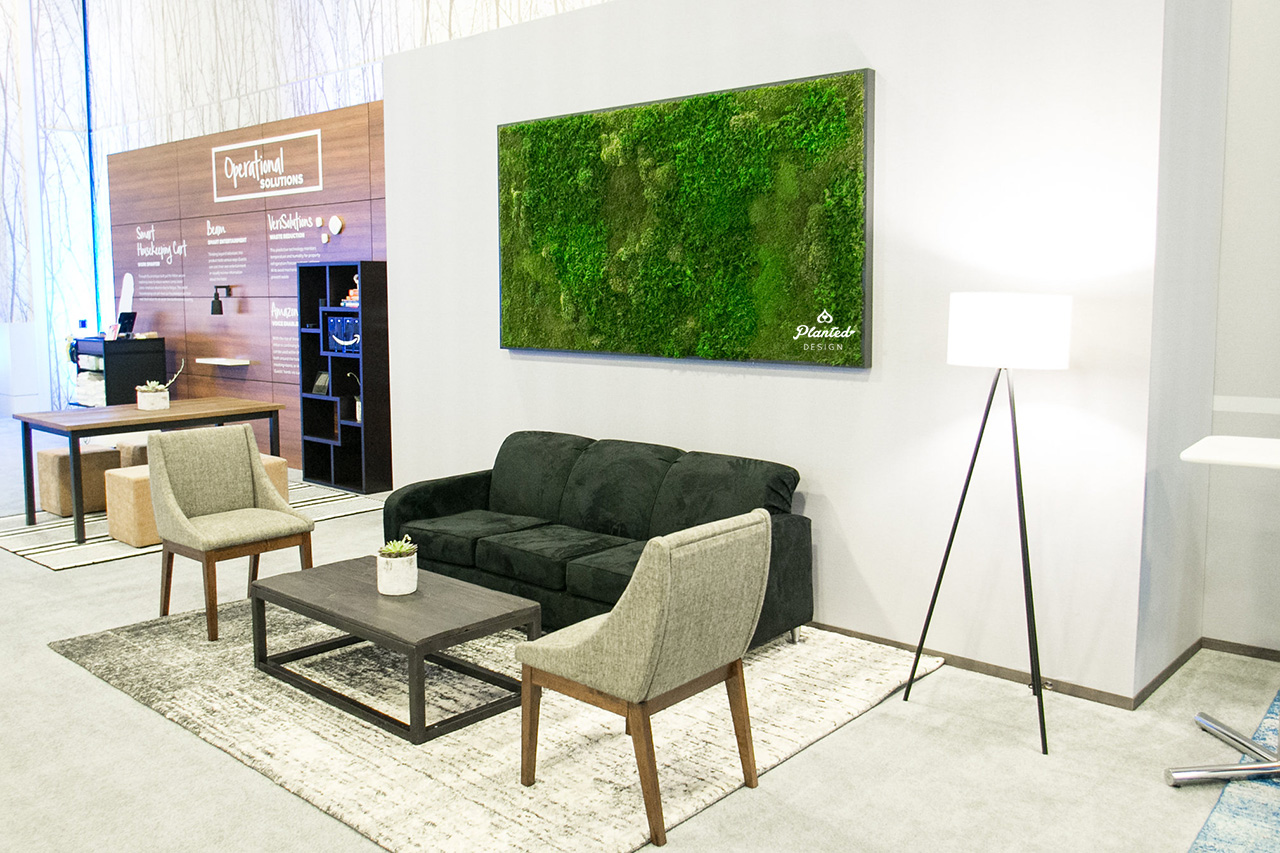 Hilton Hotels  - Moss Wall