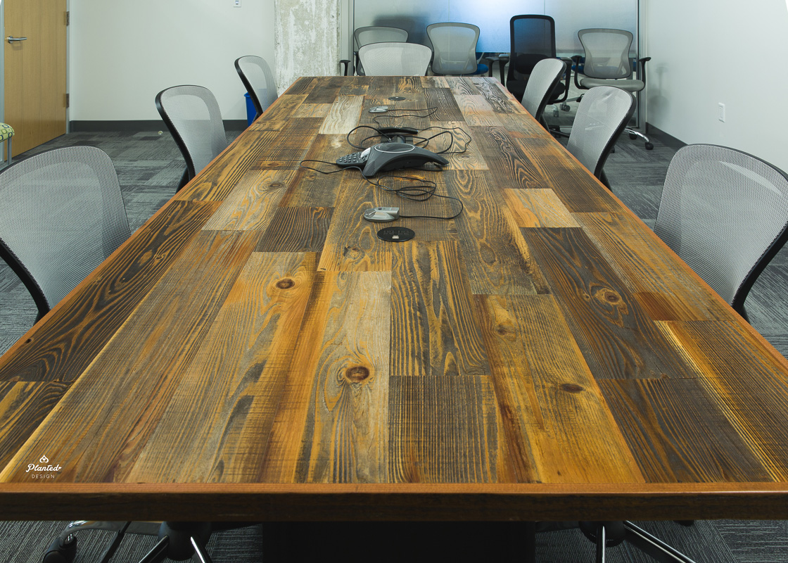 ForeFront Power  - Reclaimed Wood