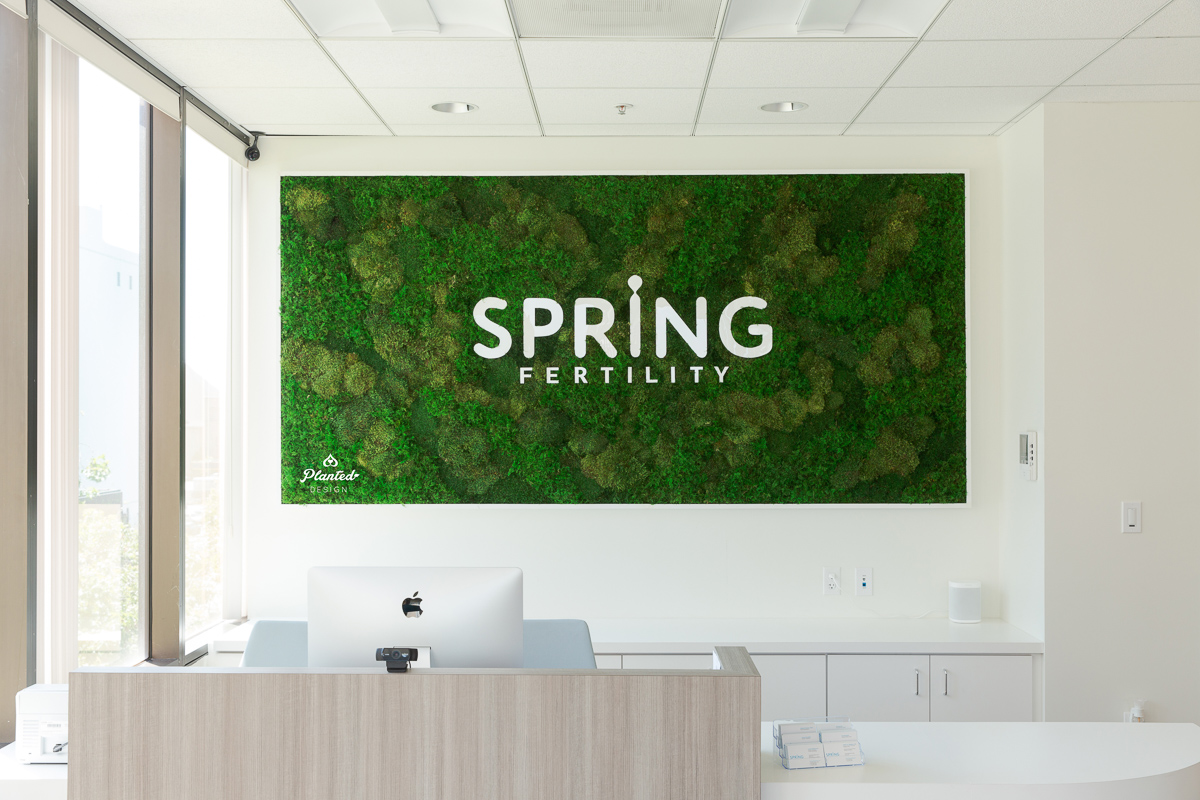 Spring Fertility  — Moss Wall