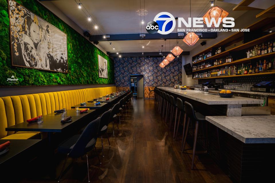 San Francisco gets Nikkei fusion at Kaiyo, featuring a 35 foot moss wall