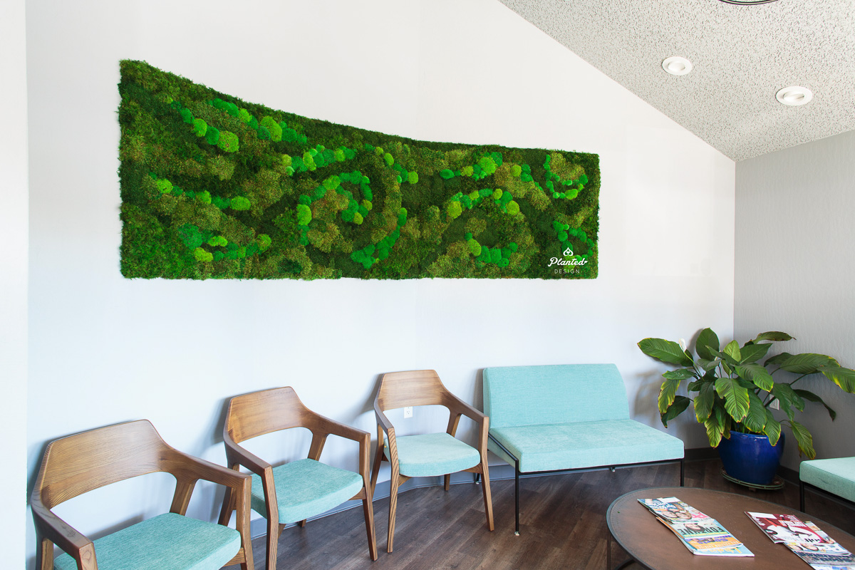 Landmark Dental  — Moss Wall