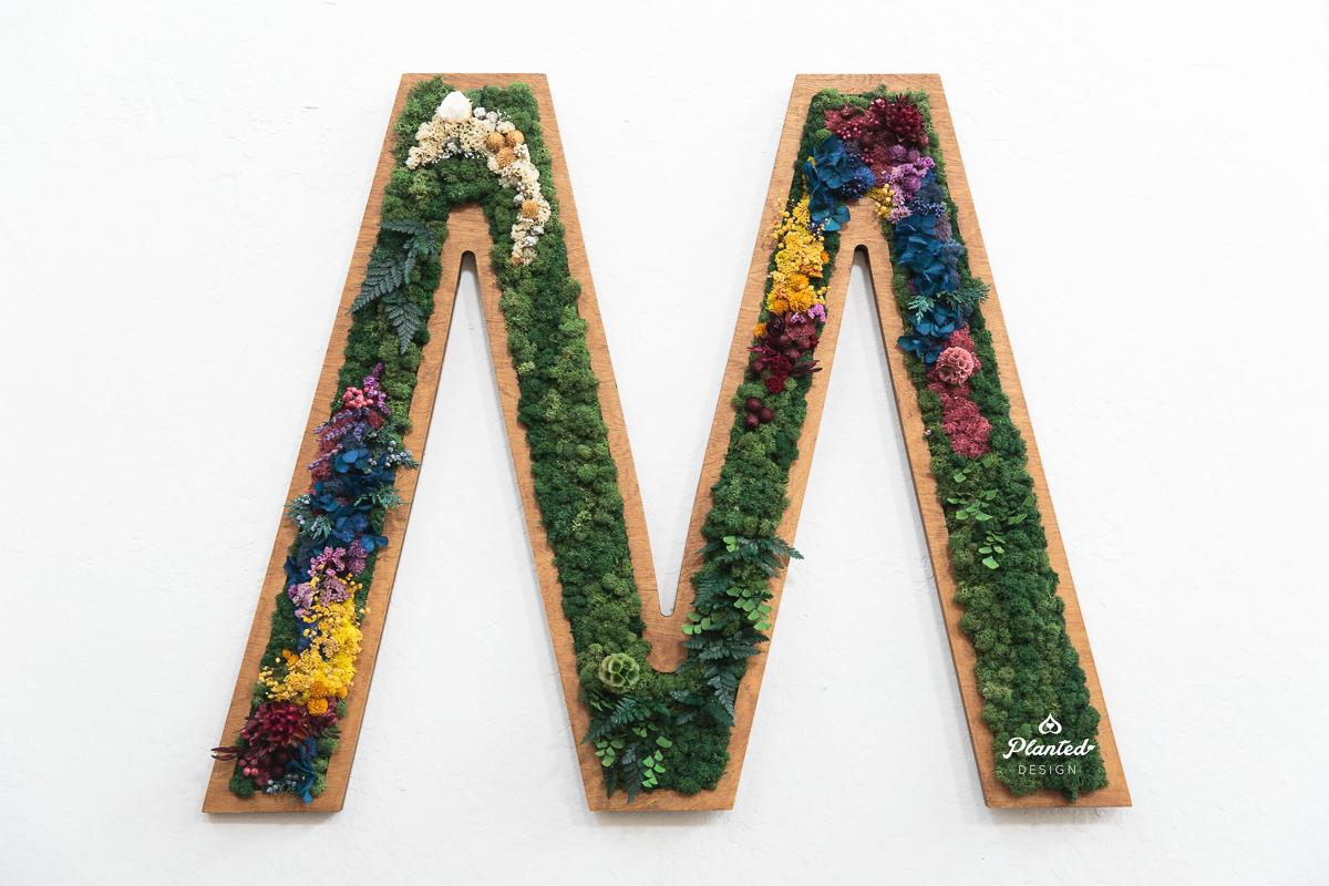 M  —Moss Wall