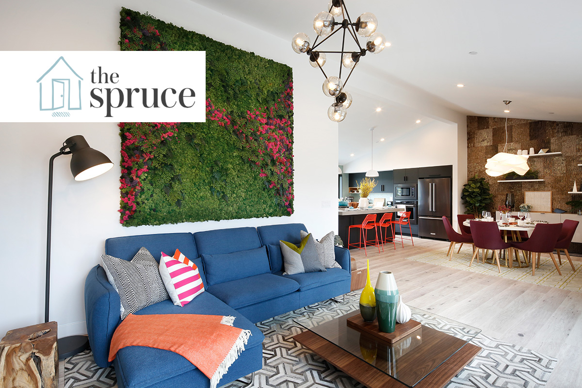 Interior Design Experts at The Spruce Share 18 Beautiful Moss Walls For Your Home