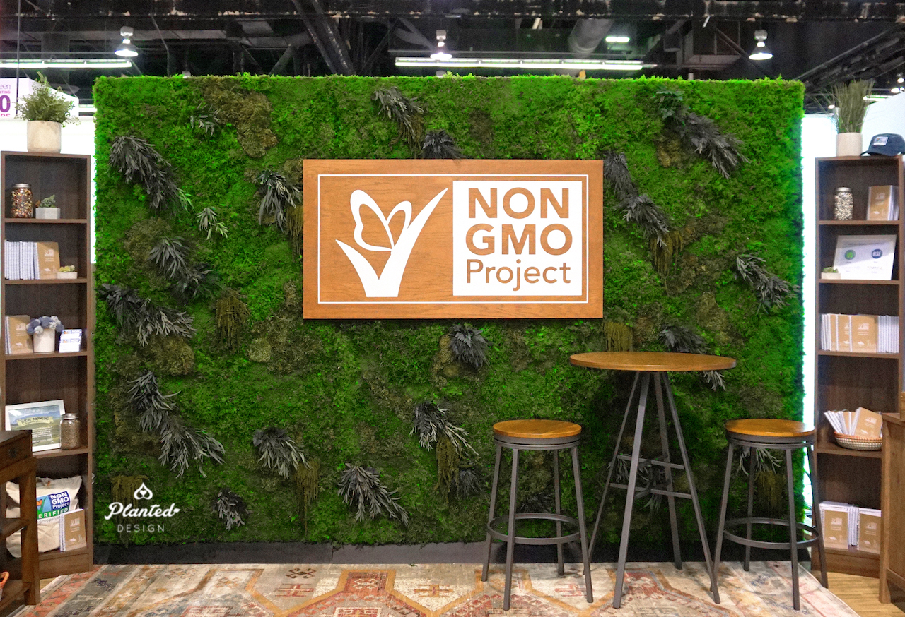 Non-GMO Project — Rental Moss Wall