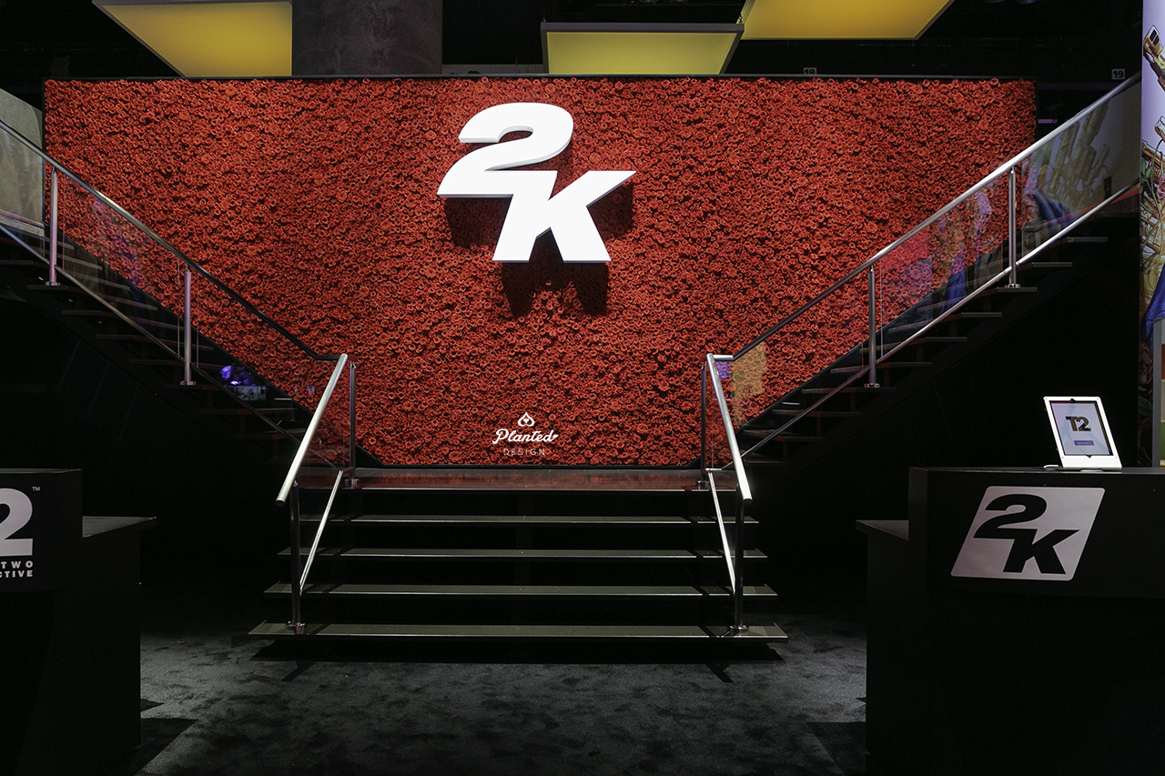 2K Games  — Rose Wall