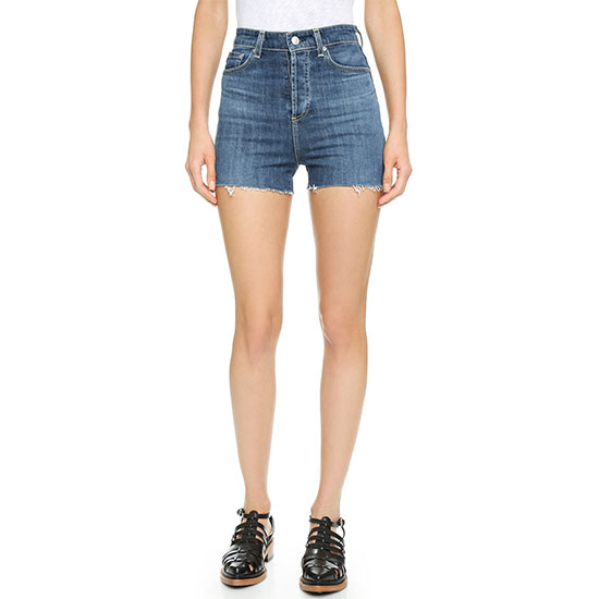 Alex Chung AG Fifi High Waisted Shorts