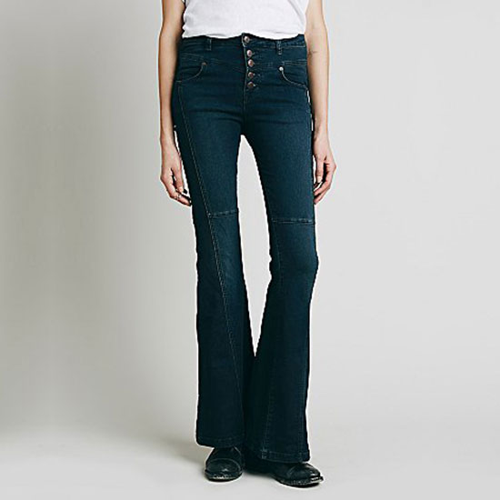 Free People Night Out High Rise Flare