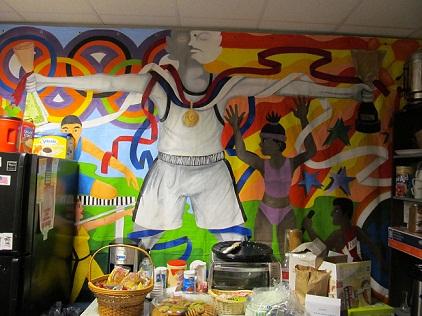 Olympic Mural