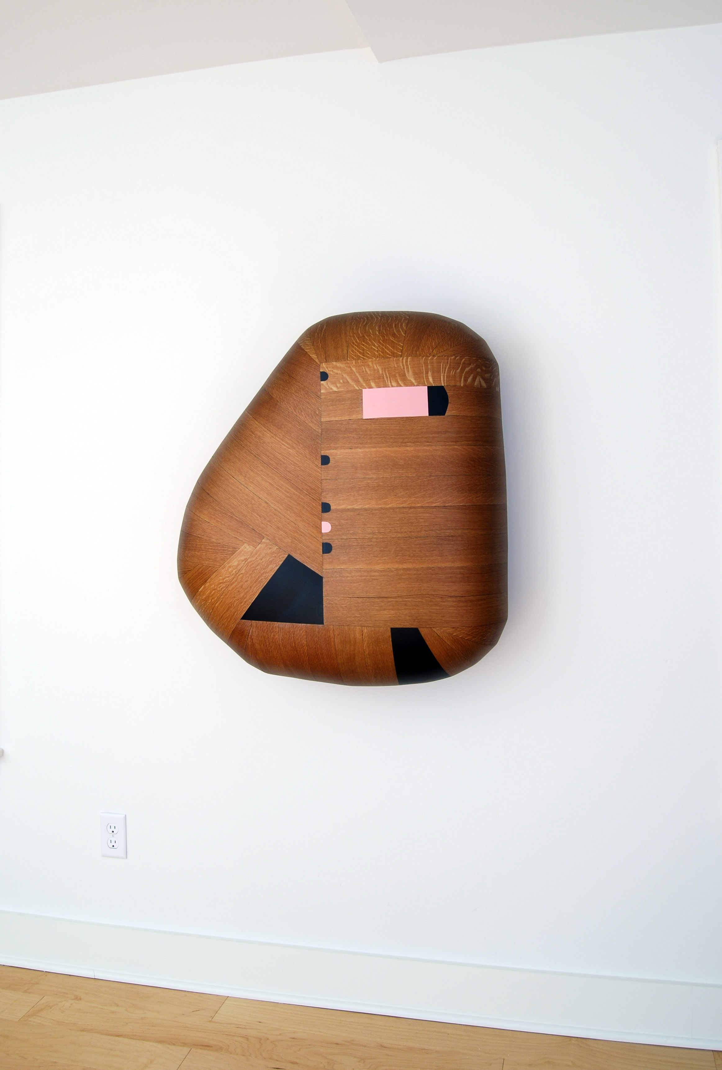 Reissue, 2018  34 x 31 x 12 inches  wood, stain, paint