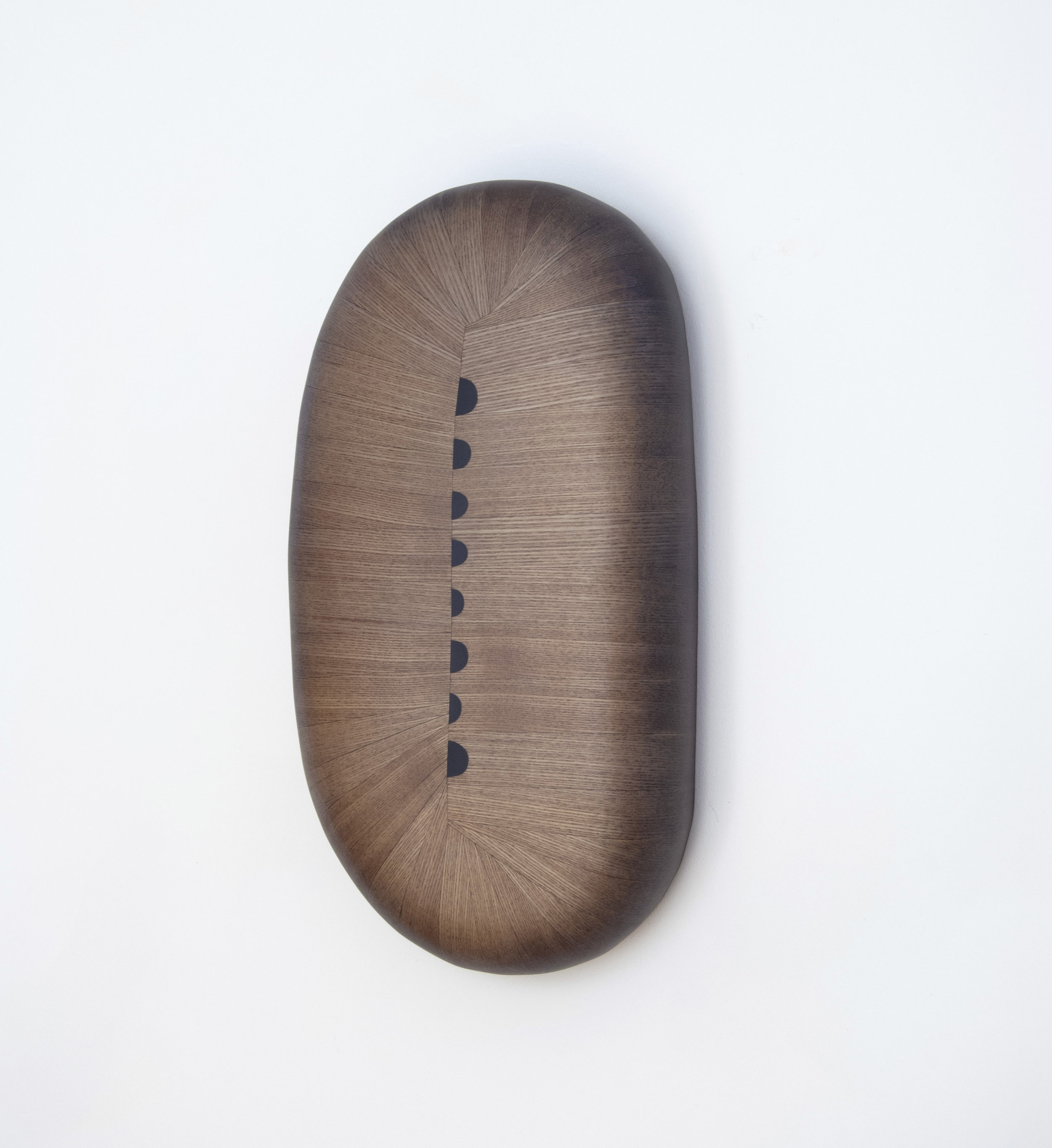 Penny, 2018  19 x 10 x 4 inches  wood, stain, paint