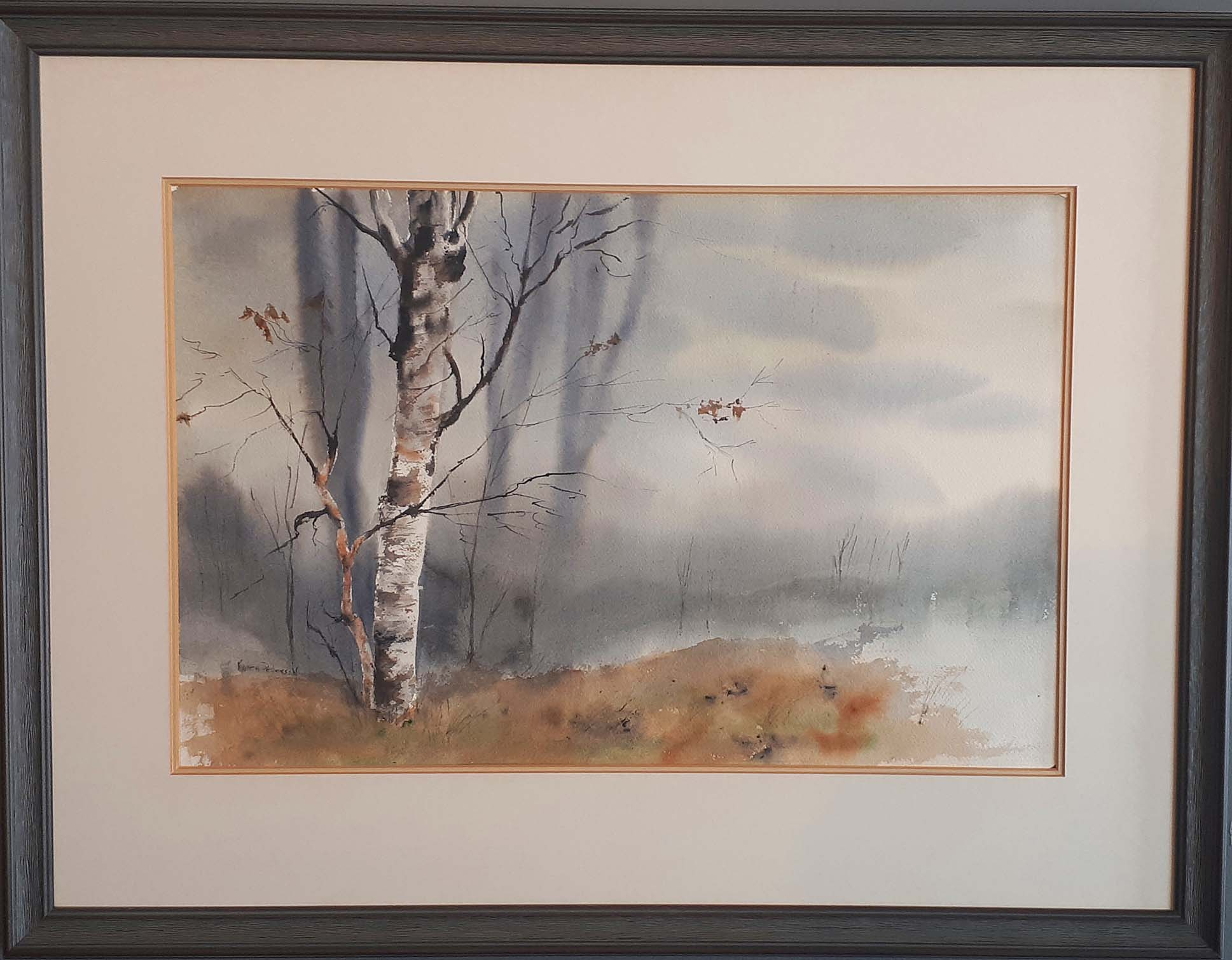 Karen Pederson, Alberta, Watercolour, Size: 28 x 22, Price: 275.00