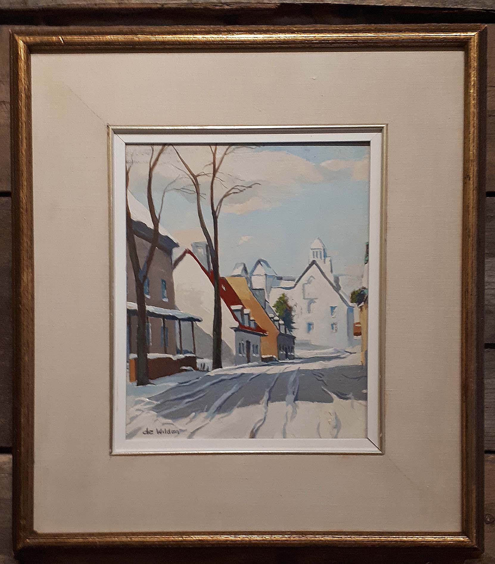 Stuart De Wilden (Manitoba) Oil on Board, Size: 18 x 20, Price: 295.00
