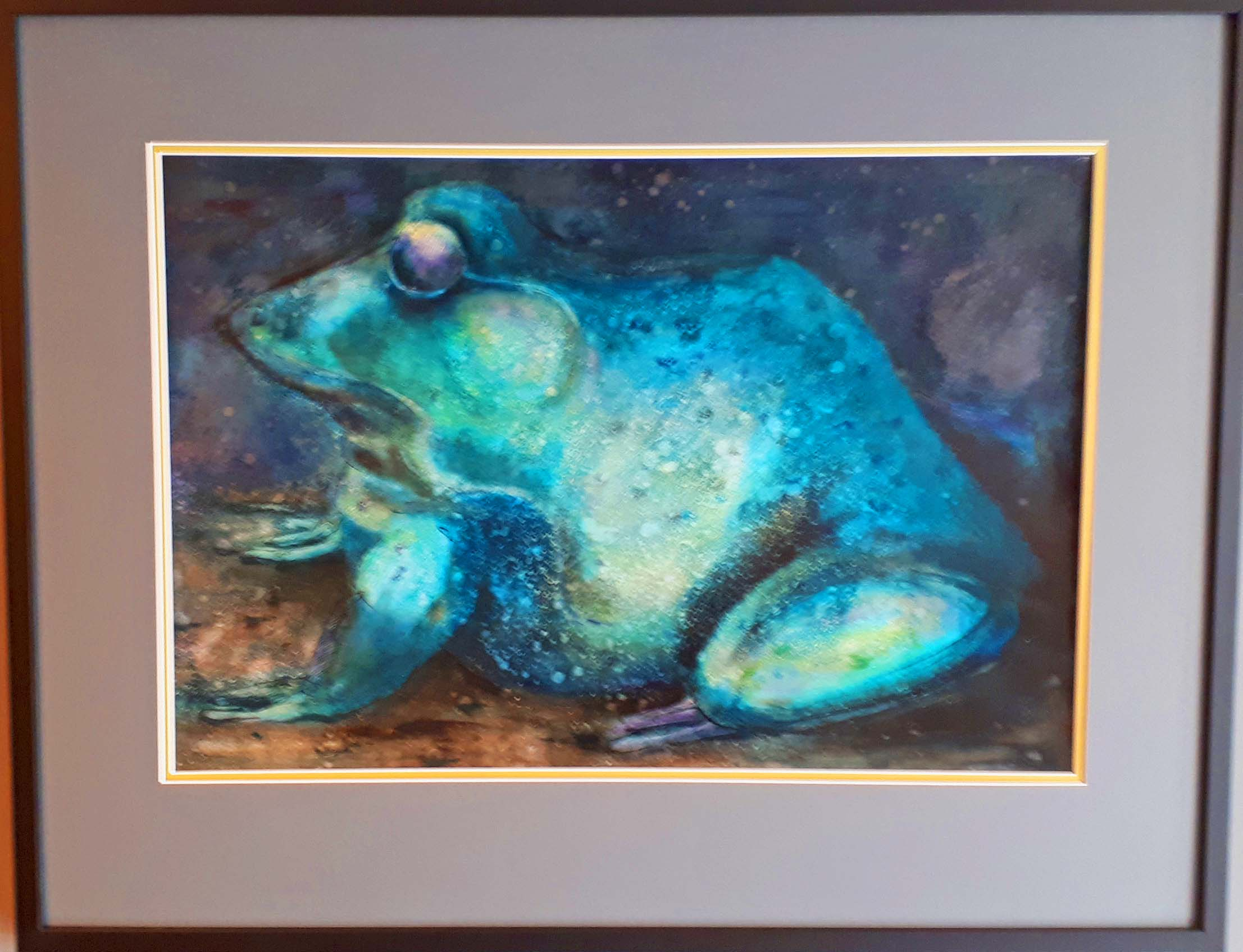 "McCleary Drope RCA Manitoba, Oil on paper, ""The Toad"" 1963, Size: 37 x 29, Price: 495.00"