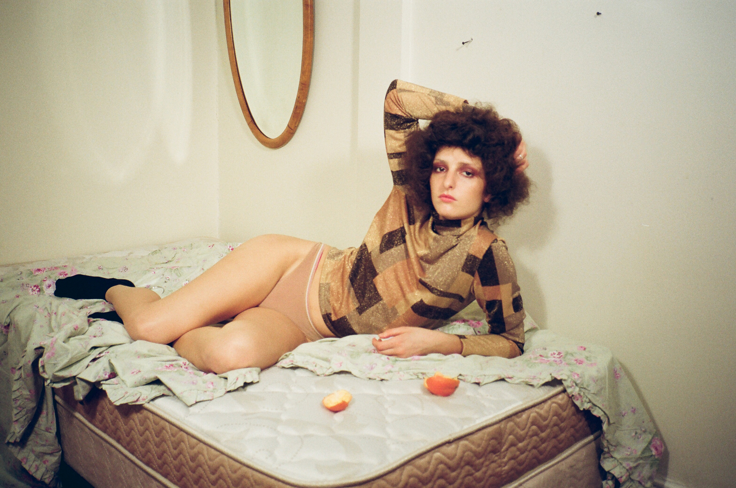 Vintage Turtleneck from Amacord Vintage  Underwear by Calvin Klein  Tabi Socks Stylist's Own