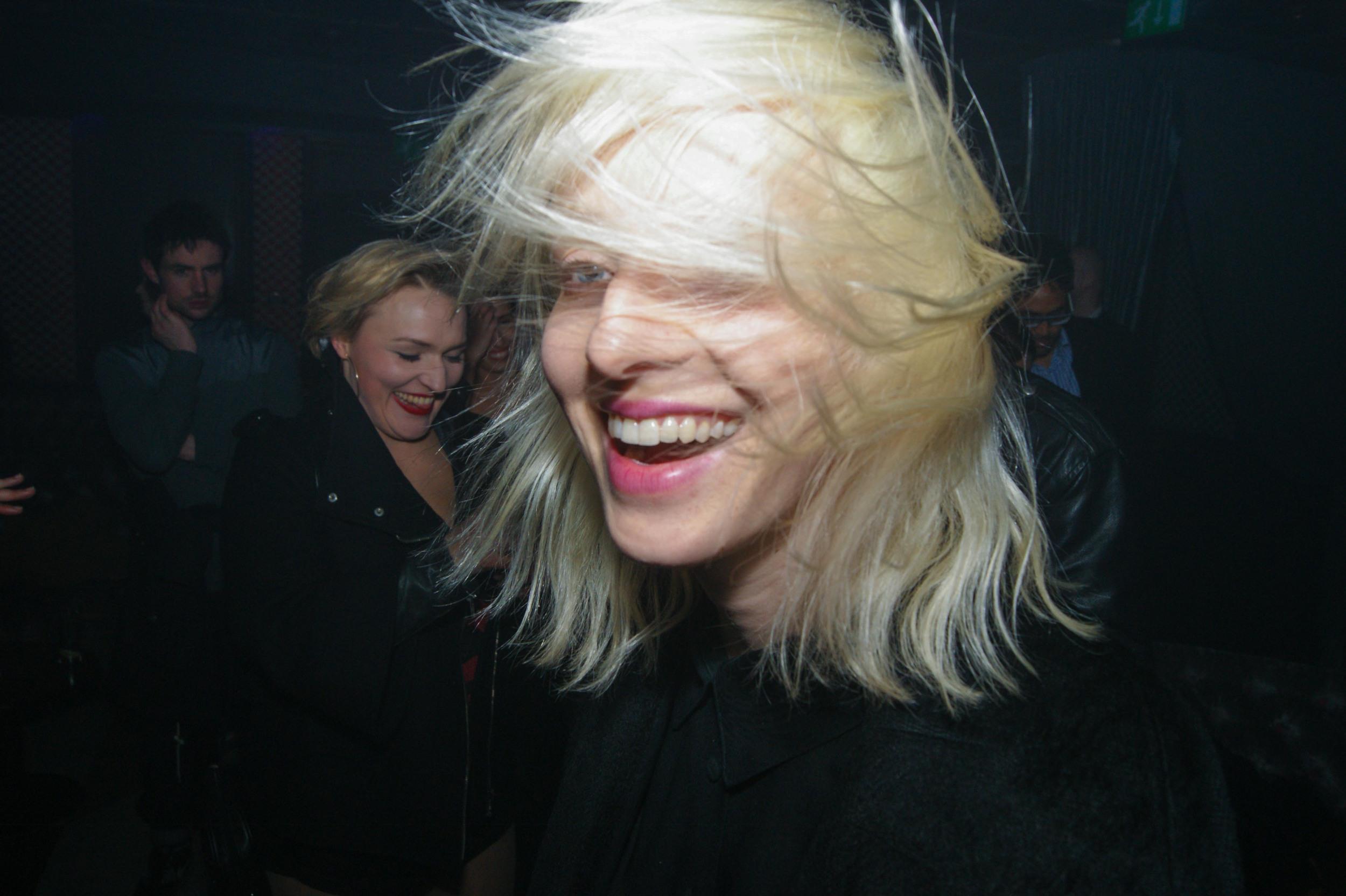 Bleach Blonde Hair, Big Smile