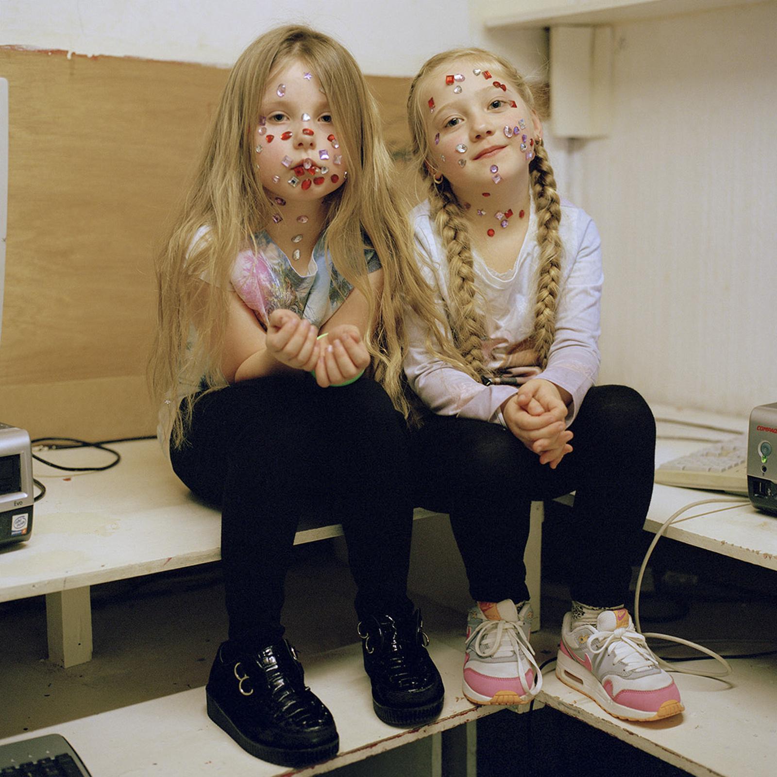 Tiara and Cerys