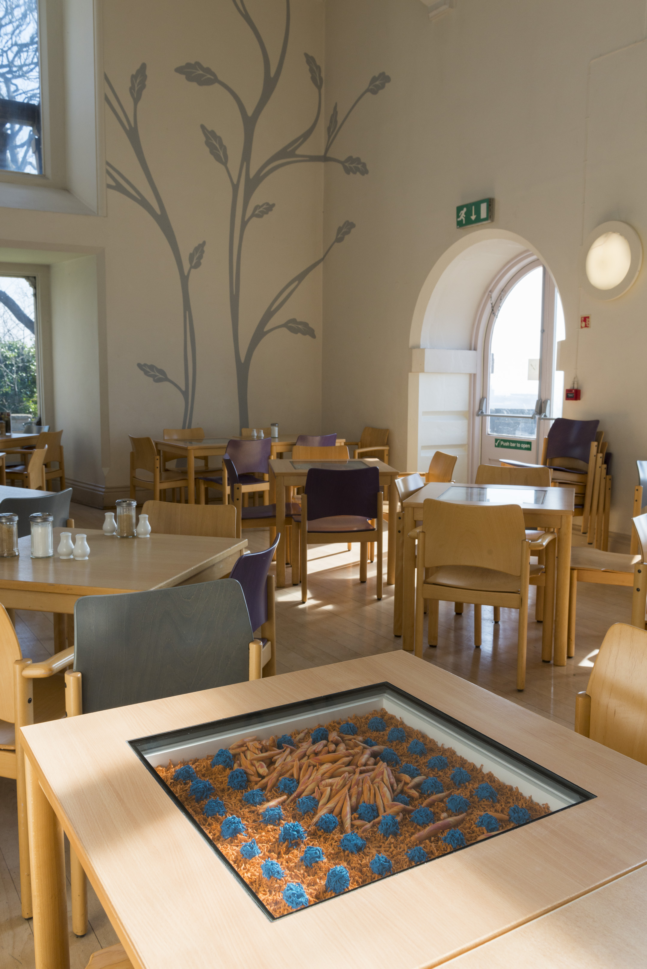 Nottingham Castle Museum & Art Gallery: The Café Table Commissions.