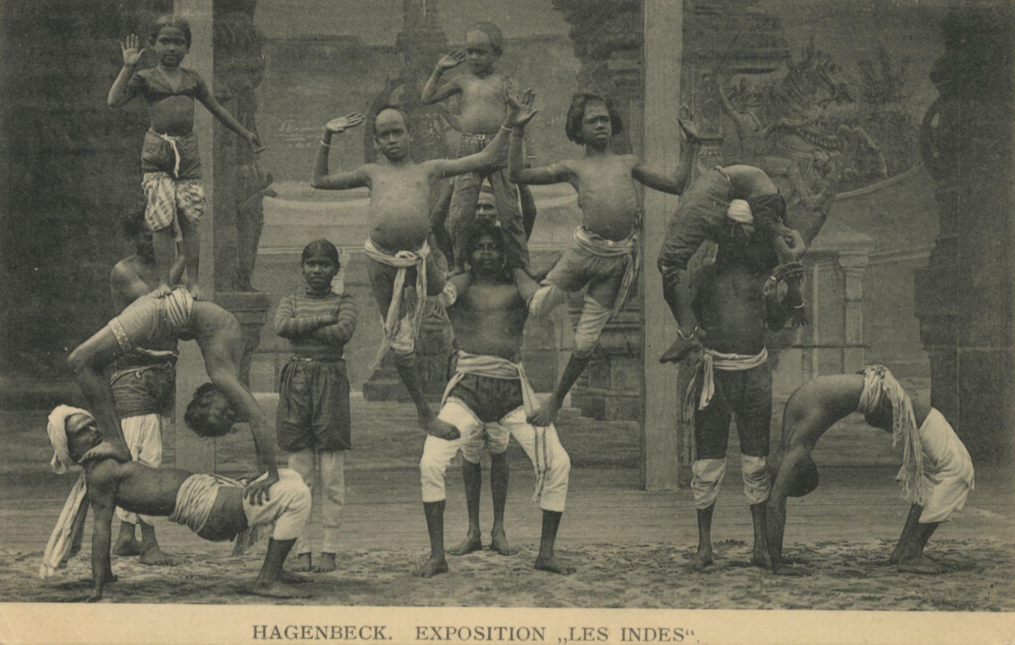 Völkerschau Indien, Akrobaten
