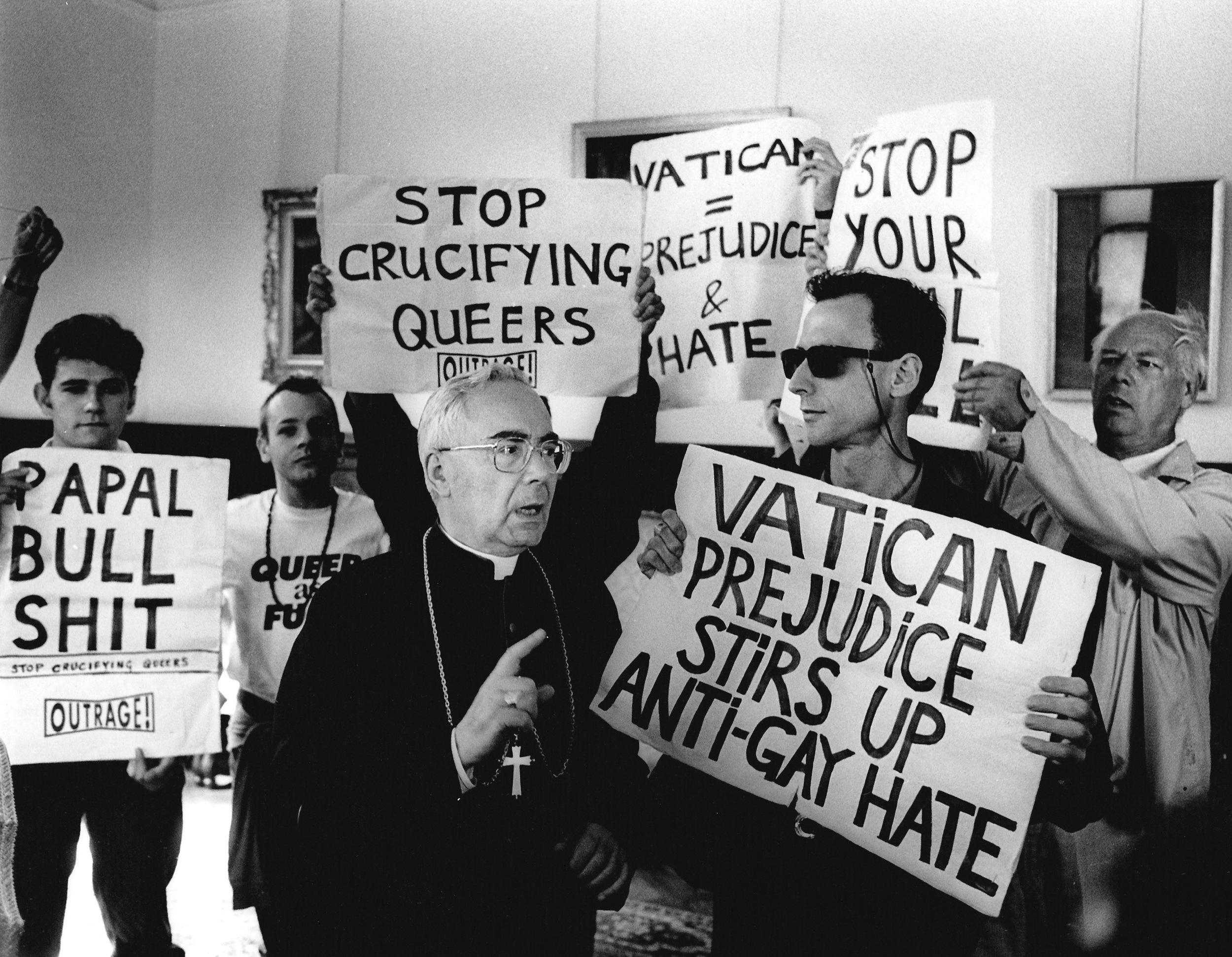 Vatican Embassy Protest , 1992