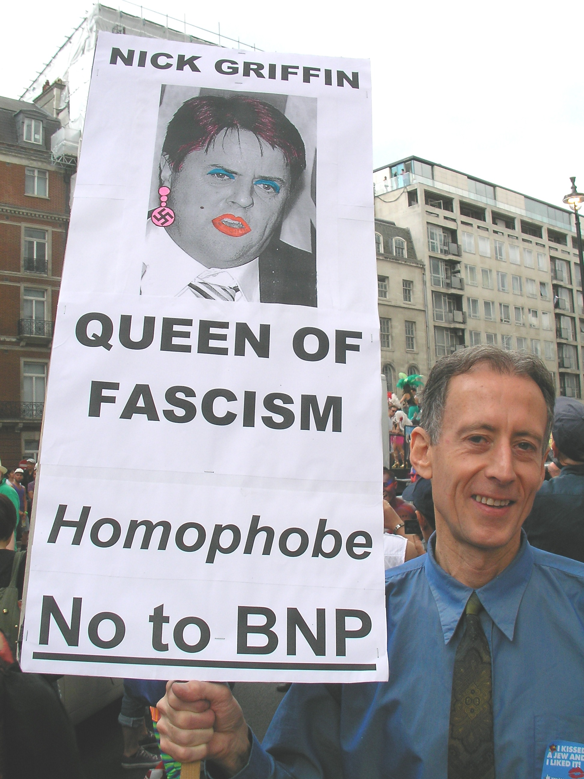 Nick Griffin - Pride London - July 2011