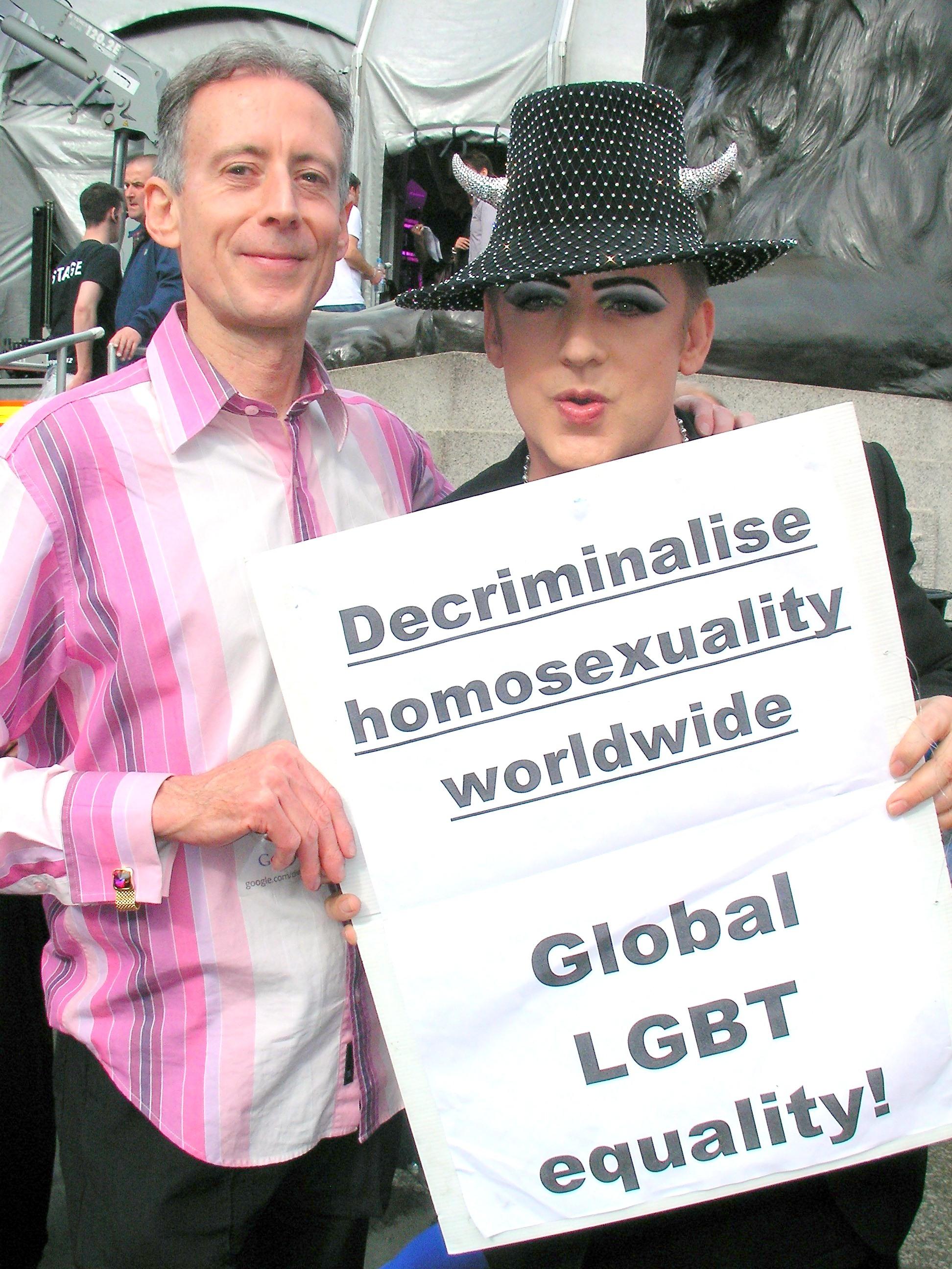 World Pride with Boy George,7 July 2012
