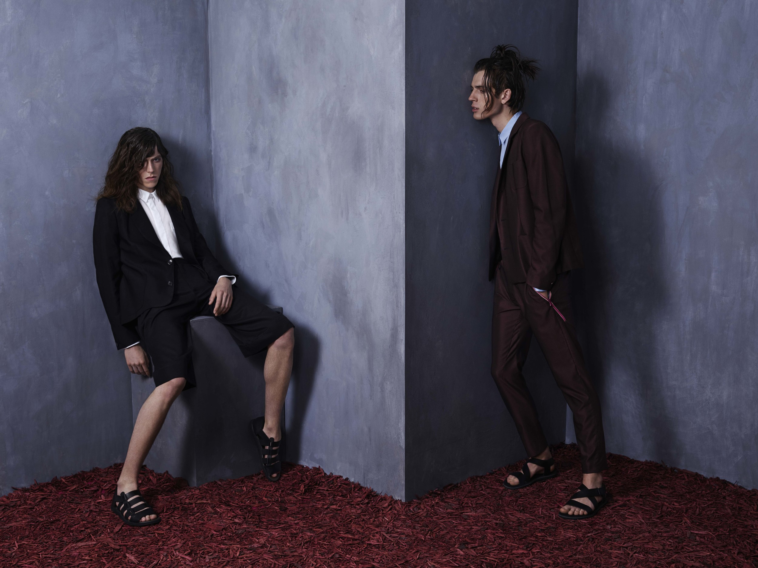 Kristian Steinberg SS'15 Ad Campaign