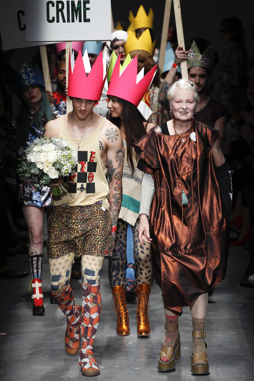 Vivienne Westwood Red Label Spring / Summer 2016, photo by  Vogue Runway