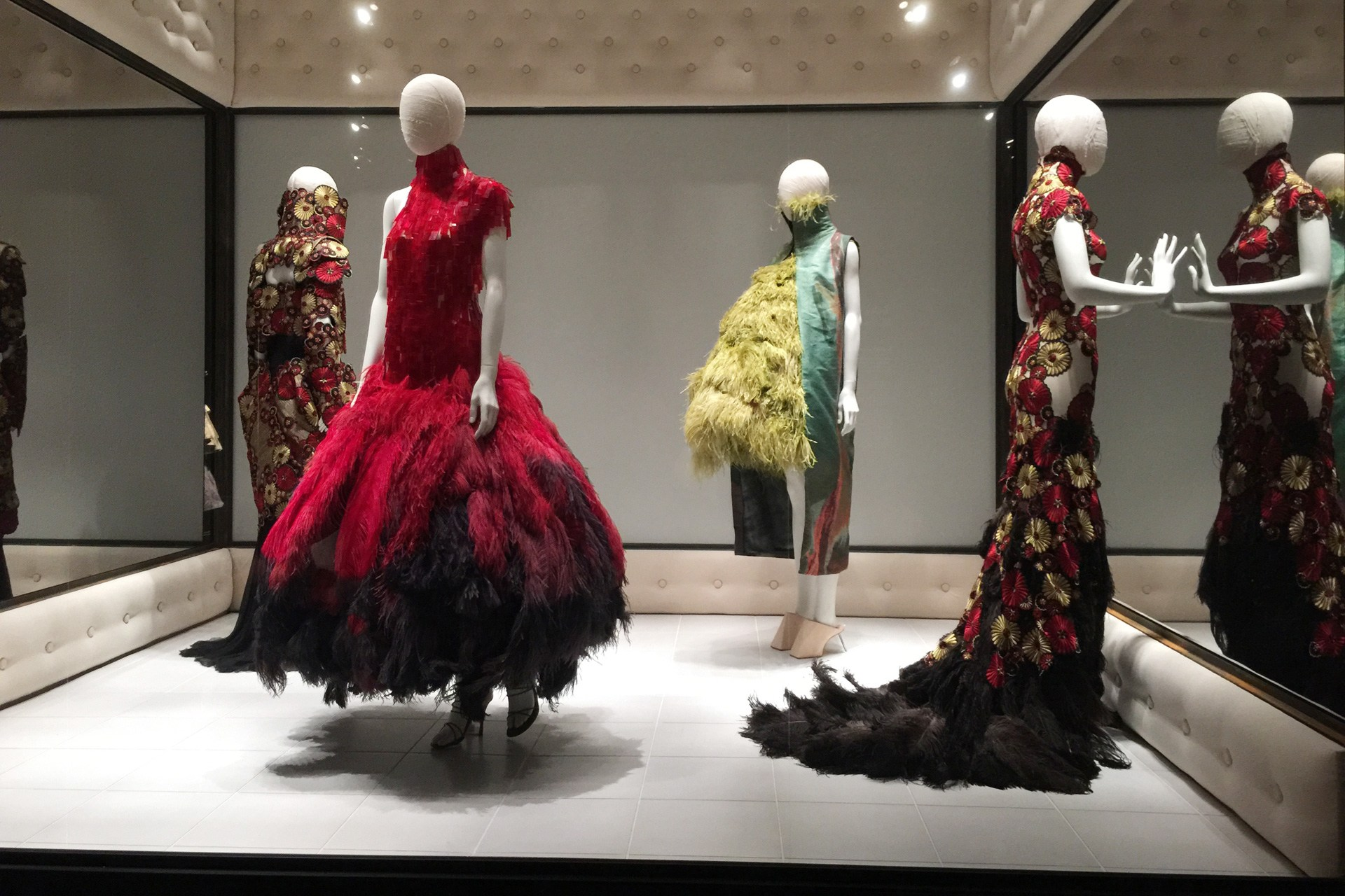 VOSS ,   Alexander McQueen:   Savage Beauty   exhibition at the V&A