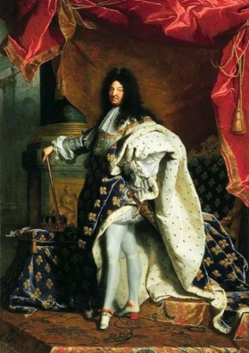 Louis XIV by Hyacinthe Rigaud,1701